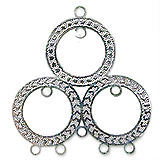 Circles Filigree Chandelier Charm