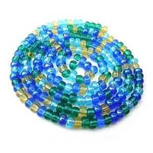 Czech Glass Seed Beads - Size 11/0 - 1 Hank x Lagoon