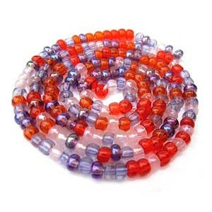 Czech Glass Seed Beads - Size 8/0 - 1 Hank x Melonberry
