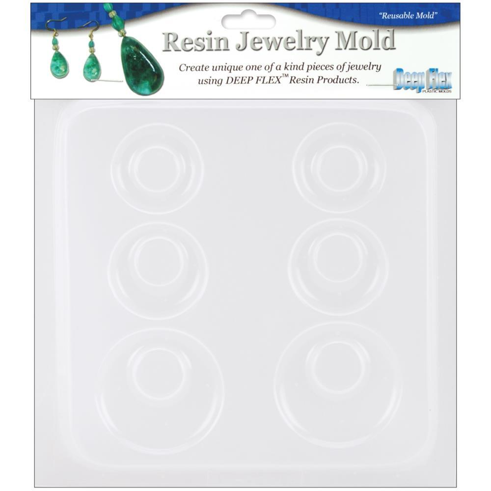 Resin Mold - Earrings x 3 Pairs