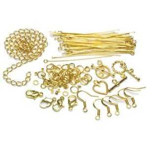Jewellery Findings Starter Pack - Gold