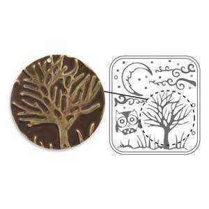 Sizzix ~ Vintaj Deco Emboss Die - Moonlit Night