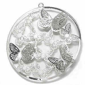 Butterfly Bonanza Filigree Craft Charm