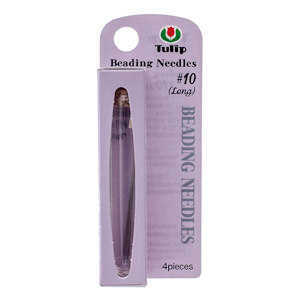 Tulip Beading Needles - Size 10 Long - Pack of 4