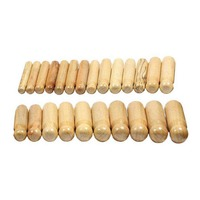Wooden Dapping Punch Set - 24 Piece Set Jewellers Tool