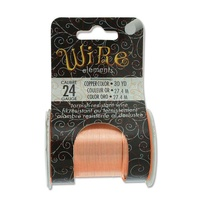 Beadsmith Craft Wire - Tarnish Resistant Copper x 24ga