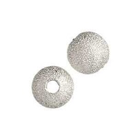 Stardust Beads - Silver Plated 6mm x 10