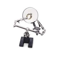 Double Third Hand Work Holder With Magnifier