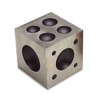 Steel Dapping Block x 2.5""