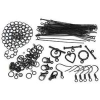 Jewellery Findings Starter Pack - Black