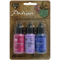 Vintaj Patina Kit By Ranger Inks x Antique Window - Add colour to metal & crafts