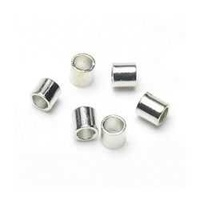 Crimp Beads - Tube - Silver 2mm x 500