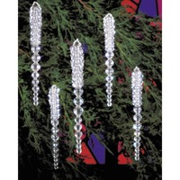 Beaded Ornament Kit - Sparkling Icicles