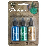 Vintaj Patina Kit By Ranger Inks x Faded Pickup - Add colour to metal and crafts