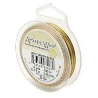 Artistic Copper Wire - Non Tarnish Brass 28ga