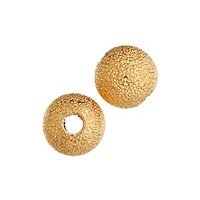 Stardust Beads - Gold Plated 6mm x 10