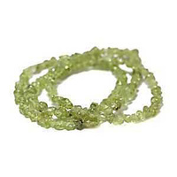 Gemstone Beads - Mini Semi-Precious Chips x Peridot