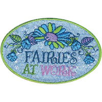 Iron-On Applique Patch - Disney Fairies At Work