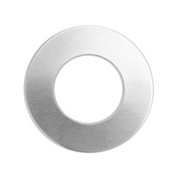 Metal Stamping Blank - 20ga Soft Strike Aluminum Washer x 25mm