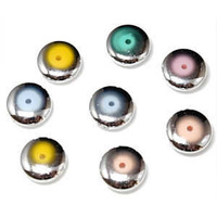 Flying Saucer Style Vintage Lucite Bead x 12mm