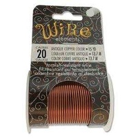 Beadsmith Craft Wire - Tarnish Resistant Antique Copper x 20ga