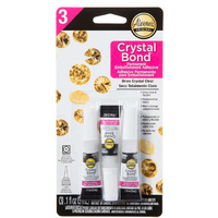 Aleene's Crystal Bond Adhesive Glue - Perfect for mending hems, repairing holes and tears on clothes
