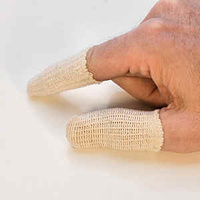 Cotton Finger Guards - Pack Of 10