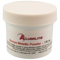 Alumilite Metallic Powder - Bronze to create a metallic finish