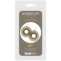 Jewellery Making Kit - Inner Circle Earrings