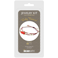 Jewellery Making Kit - Ruby Treasure Bracelet