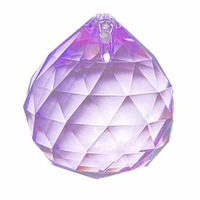 Crystal Sphere - Light Purple x 30mm
