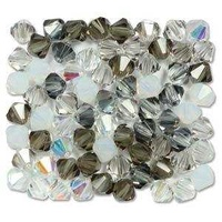 Crystal Bicone Beads - Preciosa Crystal - Apparition  6mm x 18