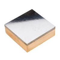 "Bench Block - Steel With Wooden Base 3"" x 3"" x 1"""