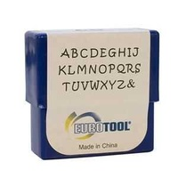 Alphabet Letter Metal Punch Stamp Set - Aras Upper Case x 2mm