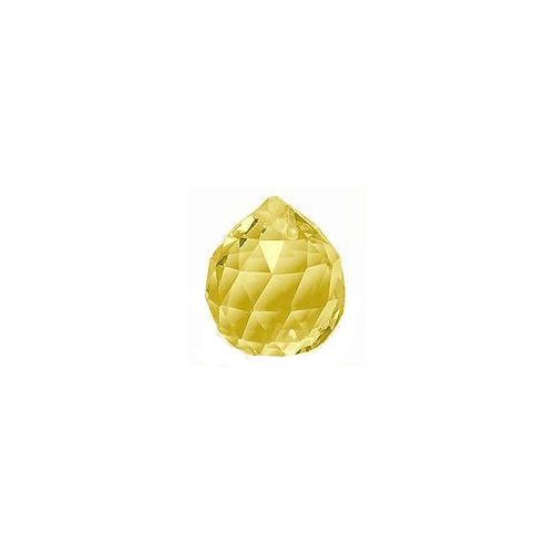 Crystal Sphere - Light Yellow x 20mm