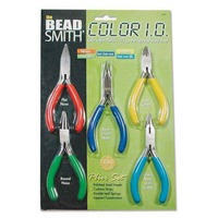 Beadsmith Color Id Pliers - 5 Piece Set