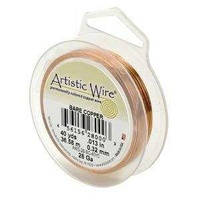 Artistic Copper Wire - Bare Copper 24Ga
