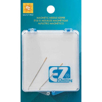 Ez Quilting Magnetic Needle Keeper - Storage Case For Beading Needles