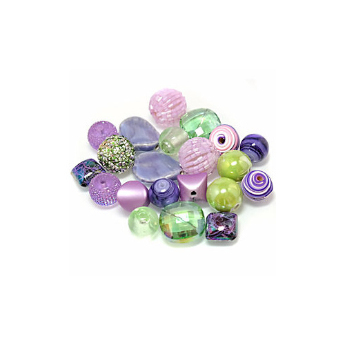 Inspirational Bead Mix - Botanicals x 50Grams