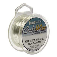 Craft Wire - Beadsmith Pro Quality Non Tarnish - Silver x 24ga
