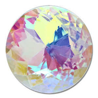 Crystal Sun Disc - Crystal Ab x 45mm *Seconds*