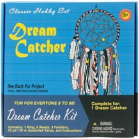 Retro Dream Catcher Kit - Make Your Own! For ages 8 and up
