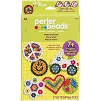 Perler Fused Beads - Peace and Love Craft Kit